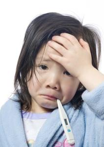 Anak Kecil Sakit Demam